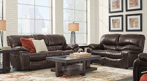 Leather Recliner Sofa Set Deals Manual Power Reclining Living Room Sets With Sofas