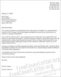 sergeant cover letter sample