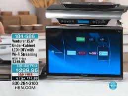 Under Kitchen Cabinet Tv Dvd Cd Player Radio Venturer 15 6 Under Cabinet Lcd Hdtv With Wi Fi Streaming Youtube