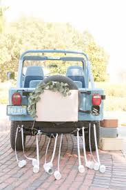 jeep wreath theme 101 best wedding transport images on pinterest wedding car