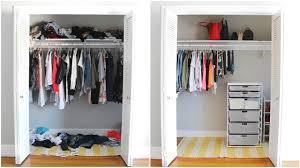 Wardrobe Organization Closet Organization Before U0026 After Youtube