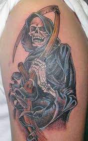 35 cool u0026 cryptic grim reaper tattoos