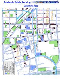 Map Of Tucson Plentiful Parking Downtown Downtown Tucson Partnership