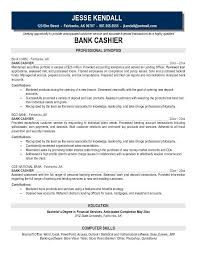 cashier resume examples lukex co
