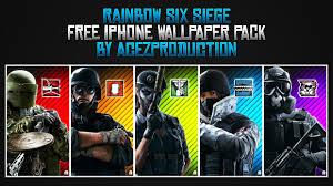 siege free rainbow six siege iphone wallpaper pack free downl