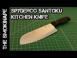 spyderco sharpmaker kitchen knives spyderco santoku general purpose kitchen knife thesmokinape