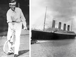 the amazing tale of tennis and the titanic the independent