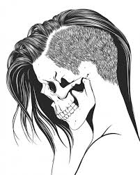 sugar skull drawing easy at getdrawings com free for personal use
