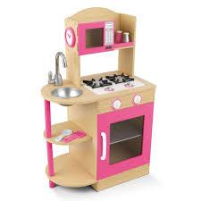 tips wooden kitchen playsets pink wooden kitchen playset