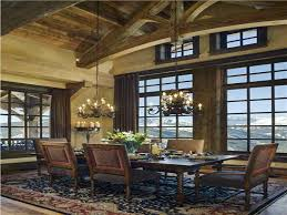 Rustic Dining Rooms by Rustic Dining Rooms Ideas With Rustic Mountain Lodge Design Ideas