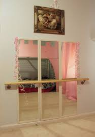 Mirrors For Girls Bedroom Diy Ballet Studio In Our Little Girls Room Success Mirrors Were