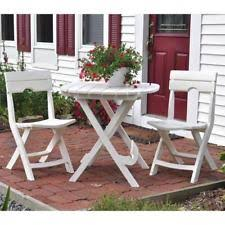 resin folding table and chairs adams resin patio garden furniture sets ebay