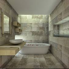 Bathroom Wall Mirror by Bathroom Dazzling Exposed Stone Bathroom Wall With Long Wall