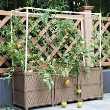 garten balkon diy balkon kunststoff pflanzen box für blumentopf und garten