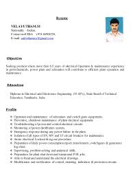 velu new resume may 2016