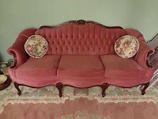 velvet sofa set french provincial sofa ebay