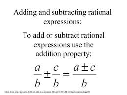 section 6 3 adding u0026 subtracting rational expressions adding