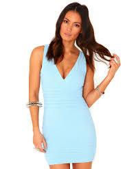 blue bodycon dress fashion show collection u2013 fashion gossip