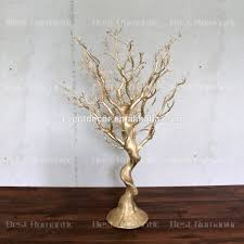 tree branches for centerpieces gold plastic tree centerpiece for decoration beautiful