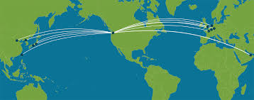 Icelandair Route Map by Carriers