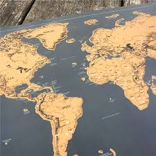 Personalized World Map by New World Maps Promotion Shop For Promotional New World Maps On