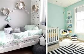 inspiration chambre bébé chambre bebe vert et blanc 6 chambre b233b233 mint inspiration
