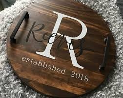 personalized tray personalized tray etsy