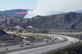 Wildfire California 2016 by Blue Cut Fire Rages In California Photos Abc News