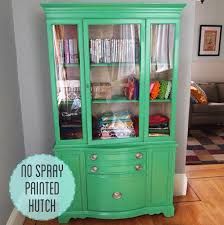 how to paint wood furniture without spray paint as well as spray