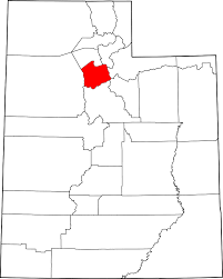 Maps Of Utah by File Map Of Utah Highlighting Salt Lake County Svg Wikimedia Commons