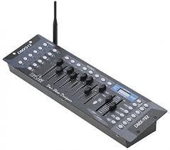 dmx light board controller dmx stage lighting board controller transmitter led dj band 192ch