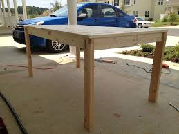 Simple Kitchen Tables by Dining Table Plans Outdoor Dining Table Plans U2013 Woodwork Deals