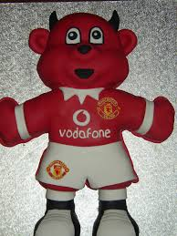 man utd red devil mascot birthday cake susie u0027s cakes