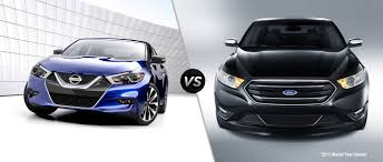 nissan maxima youtube 2015 2016 nissan maxima vs 2015 ford taurus