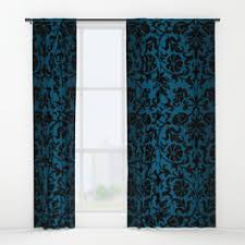damask window curtains society6