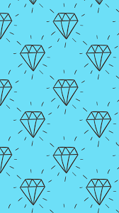 hand drawn diamonds hd wallpaper for your android phone