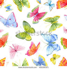 abstract pattern butterfly watercolor pattern bright butterflies colorful abstract stock