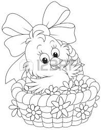 942 easter coloring stock illustrations cliparts royalty