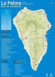Baja Map La Palma Travel Map