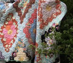 flower garden quilt pattern grandmother u0027s flower garden quilt garden in delight