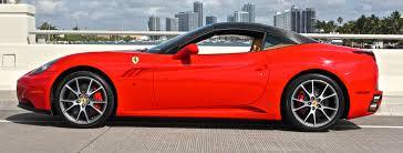 Ferrari California Coupe - ferrari california rental miami la nyc
