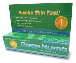 deep numb skin numbing cream dctattoo