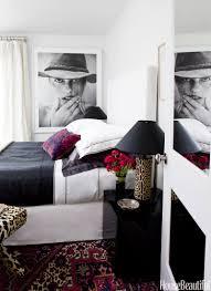 bedroom brown nightstands white crystal bedside lamp white
