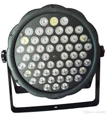 disco light low cost dj disco light dmx led par lights rgbw 54x 3w party stage