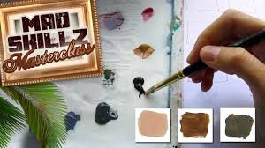 mix realistic skin colors and flesh tones for painting like a pro