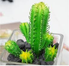 plantes pour bureau 4 pcs artificielle plantes succulentes mini vert cactus flores
