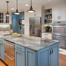 Light Blue Kitchen Cabinets by Kitchen Cabinet Ideas And Countertop Trends 2017 Pictures European