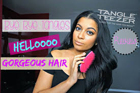 hair you wear the best brush for thick curly hair tangle teezer