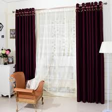 Blackout Purple Curtains Purple Window Panels Curtains In Cool For Blackout