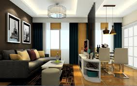 partition designs between living dining interior design